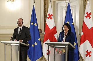 Charles Michel in Georgia tenta la mediazione nella crisi politica nazionale
