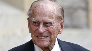 Prinz Philip (99), der Ehemann von Königin Elizabeth II.