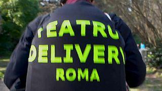 عروض مسرحية حسب الطلب في العاصمة الإيطالية روما