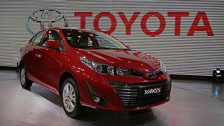 Toyota Yaris eleito carro do ano