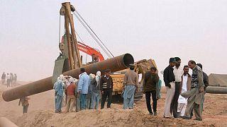 احداث خط لوله گاز در پاکستان