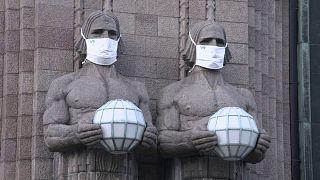 Standbilder in Helsinki