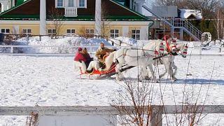 Orosz trojkák versenyeztek a sziériai utakon