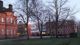 An asylum centre in Vänersborg, Sweden