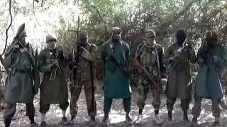عناصر في تنظيم بوكو حرام في نيجيريا المبايع لتنظيم الدولة الإسلامية