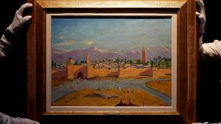 Tower of the Koutoubia Mosque by Winston Churchill