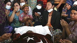 Funérailles à Mandalay, en Birmanie, lundi 1 er février 2021
