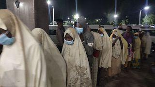 دختران ربوده شده در نیجریه آزاد شدند