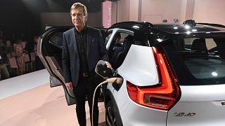 Volvo elektrik modelinin tanıtımı