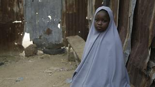 Student Amtallahi Lawal, 11, who hid under her bed and managed to escape when gunmen abducted more than 300 girls from her boarding school on Feb 26, 2021.