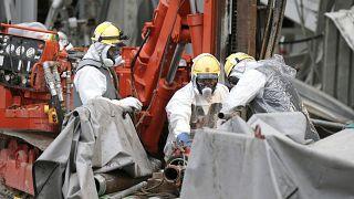 پاکسازی نیروگاه فوکوشیما در سال ۲۰۱۴