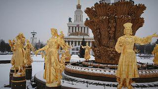 Uma visita a Moscovo em pleno inverno