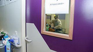 Dans le centre de soins de Pamandzi (Mayotte), le 1er mars 2021.