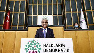 HDP Eş Genel Başkanı Mithat Sancar, partisinin TBMM Grup Toplantısına katılarak konuşma yaptı