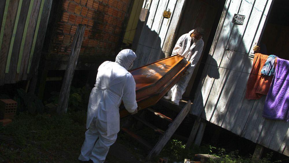 Mutante P.1 hat in Manaus in Brasilien gewütet - und anderswo? - euronews