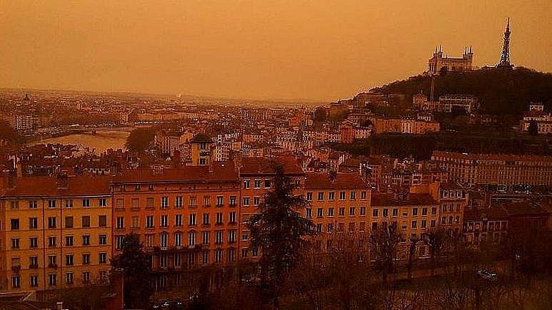撒哈拉沙塵暴一個月席卷法國3次,帶回61年前放射性物質!