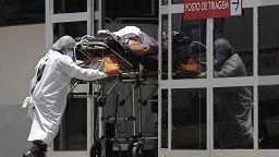 Los hospitales brasileños colapsados por la pandemia