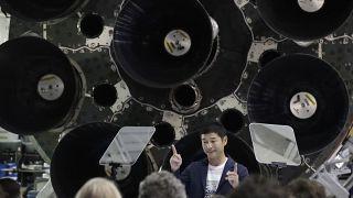 2023'te Ay'ın etrafını dolaşacak uzay yolculuğu için tüm biletleri satın alan iş insanı Yusaku Maezawa