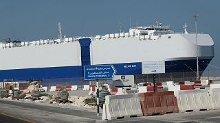 سفينة الشحن الإسرائيلية