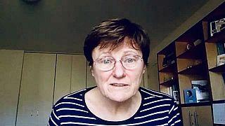Karikó Katalin biokémikus az Euronews szerkesztőségének adott korábbi interjúban