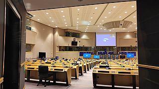 Az Európai Néppárt frakcióülése Brüsszelben