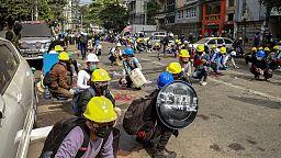 La junta militar birmana despliega todo su arsenal represor contra el movimiento de defensa civil