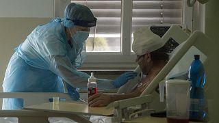 مستشفى لعلاج مرضى كوفيد-19 في سلوفاكيا