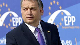 Erleichterung bei EVP nach Auszug von Orbans Fidesz-Abgeordneten