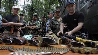مصادره اسلحه یک شبکه قاچاق در قرقیزستان