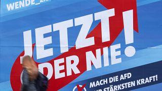 Предвыборный плакат «Альтернативы для Германии»