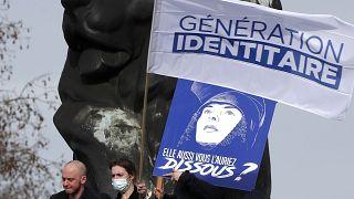 تظاهرات گروه نسل هویت طلب