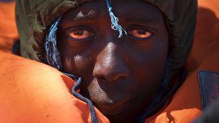 پناهجوی نجات یافته در آبهای مدیترانه