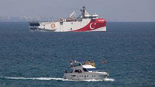 عملیات اکتشاف نفتی ترکیه در شرق مدیترانه
