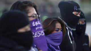 """""""Desde Amnistía consideramos que el enojo de las mujeres debe ser escuchado y respetado para ser visto como un elemento de cambio social"""", dijo la directora en México."""