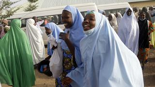 Freed Nigerian Schoolgirls Reunited with their Families