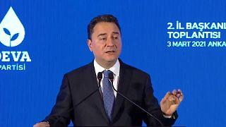 DEVA Partisi lideri Ali Babacan