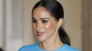 FILE: Duchess of Sussex after the annual Endeavour Fund Awards in London,  March 5, 2020.