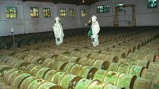 یکی از انبارهای سلاحهای شیمیایی روسیه در سال ۲۰۰۰
