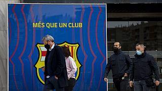Polizeioperation beim FC Barcelona