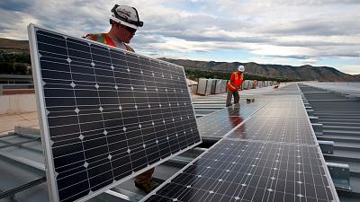Alternative energy sources are paving the way for hundreds of thousands of new green jobs