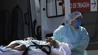 مستشفى HRAN في برازيليا، البرازيل، الأربعاء 3 آذار /  مارس 2021