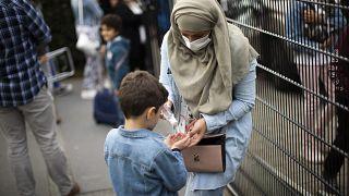 مادر و فرزندی در بلژیک