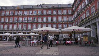 Imágenes de la Plaza Mayor de Madrid