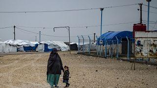 مخيم روج  شمال شرق سوريا،  4  شباط / فبراير 2021