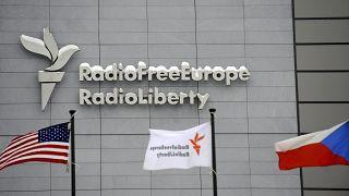"""Штаб-квартира """"Радио Свободная Европа""""/""""Радио Свобода"""" в Праге"""