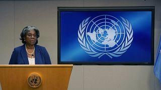 السفيرة الأمريكية لدى الأمم المتحدة، ليندا توماس غرينفيلد