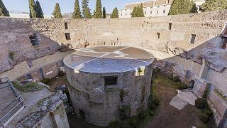 Das Augustus-Mausoleum in Rom