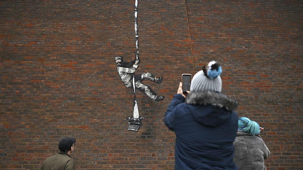 Create Escape': Secretive artist Banksy confirms new artwork on wall of  former prison | Euronews