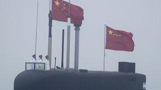 غواصة تابعة لجيش التحرير الشعبي الصيني