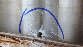Meksikalı politikacının evine yapılan silahlı saldırıdan bir iz